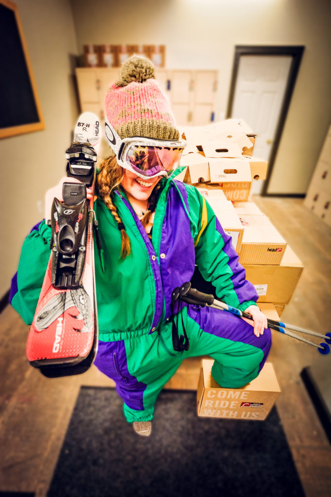 Ski & Snowboard rentals at Apex Mountain Resort.