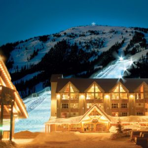 Apex Mountain Resort ski in ski out accommodations
