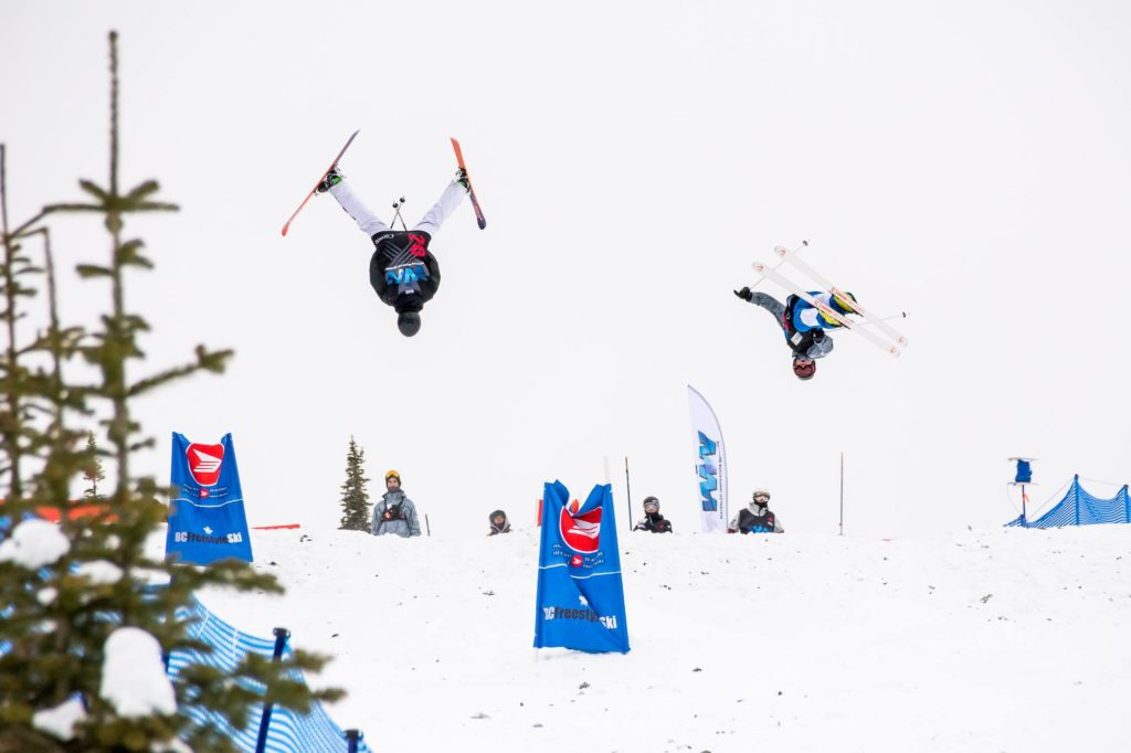 BC Freestyle Ski competition on our world class mogul course.