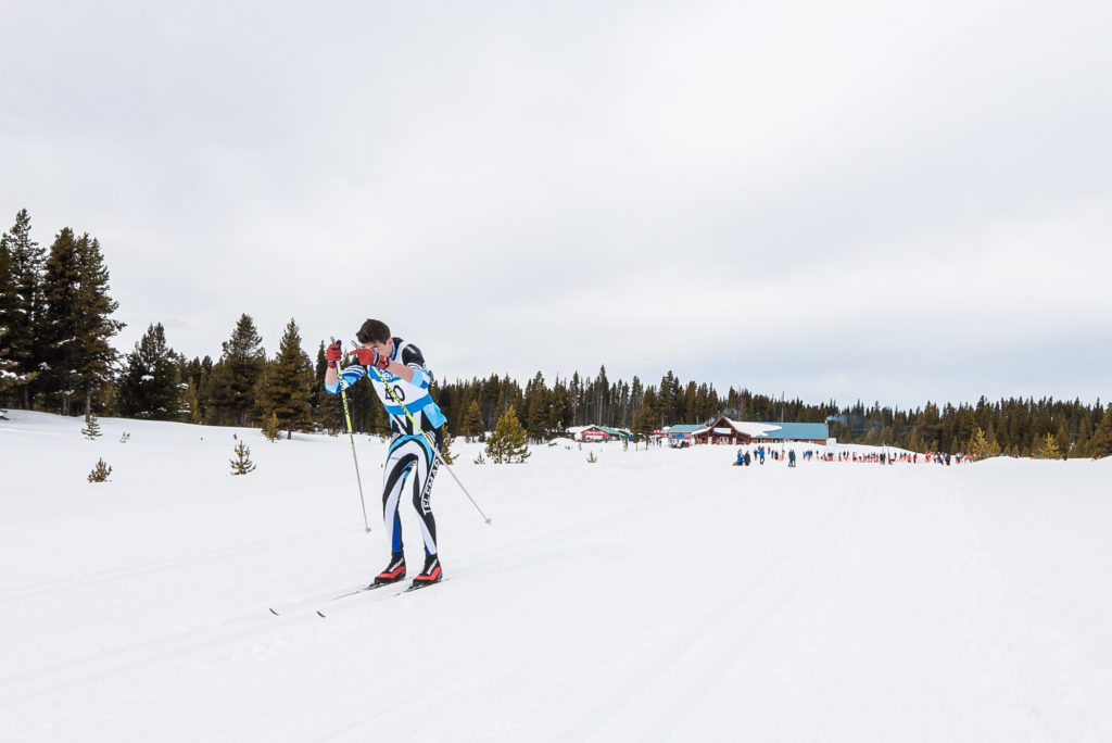 Cross Country Skiing at Nickel Plate Nordic Center during the 2016 BC Winter Games in Penticton.